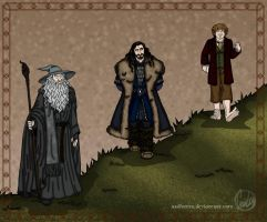 The Hobbit: Size is Relative by wolfanita