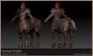 Centaur Knight by 0SkyerS0