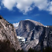 half dome, color by VaggelisFragiadakis