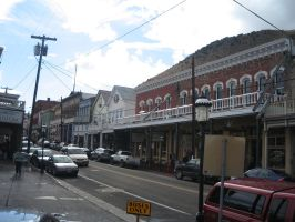 Downtown Virginia City by rifka1