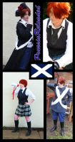 APH: Scotland Cosplays by DePleur