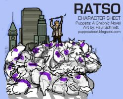 Puppets: A Graphic Novel RATSO by Gargantuan-Media