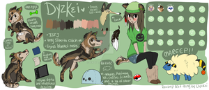 I finished the thing kinda.. Dyz 4.0 by Dyzkei-The-Doe