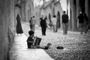 Little musician. by dawidlach