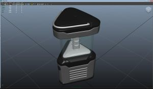 3D modeling Assignment 1 - LED lantern by smp156