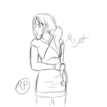 Myst sketch by SwiftStrikerXX