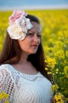 In the rapeseed field (4) by Avahlon-Stock