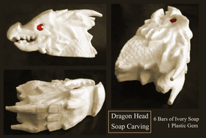 Dragon Soap Carving by Red-Bunn3h