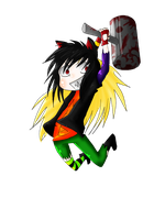 Comission - chibi Ambar by Hep-Hap