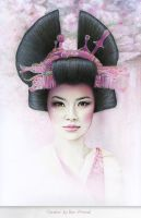 Geisha by becwinnel