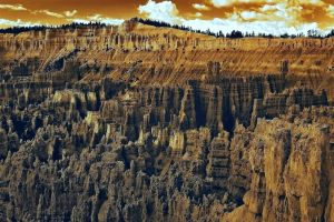 Bryce Canyon In Sepia by CitizenFresh