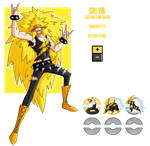 Fakemon: Electric Gym Leader by MTC-Studio