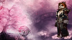 Wallpaper - Meiying 2.0 by Aryiana-dzyn