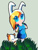Fionna and Cake by karsisMF97