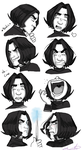 8 Snape expressions by gilll