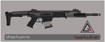 Quicksilver Industries: 'Javan' Precision Rifle by Shockwave9001