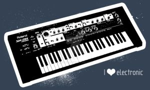 I love electronic by mortifi