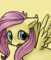 Fluttershy by LaLucca
