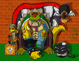 Bowser Jr and his Gang by Songficcer