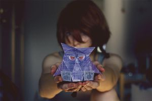 Gengar Papercraft by Tigerle