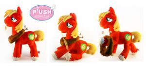 19 Inch Poseable Big Mac Plush by PlushActionToys