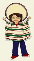 Me in a poncho by whosname