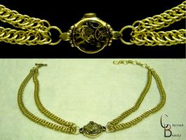Time Stopped Choker by ChainedBeauty