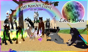 Last Moon (MMORPG) 1000 Members Event! by RakshaWw