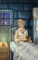 Remus In The Infirmary Color by BerenicePotter