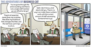 The Adventures of Business Cat - Numbers by tomfonder