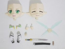 Papercraft Chibi Lyfa - accessories by bryanz09