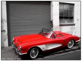 Little Red Corvette by DHoffmann