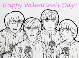 Beatles Valentine by Elizabeth159