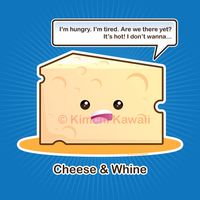 Cheese and Whine by kimchikawaii