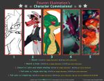 Character Commission Price Sheet. by procon-8