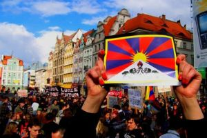 Free Tibet by olainturrupted