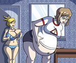 Pack Preview - Annette and Melissa Get Stung by Axel-Rosered