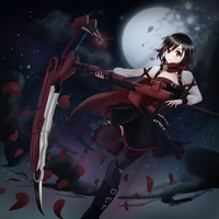 Ruby Rose (rwby) by SV7IS