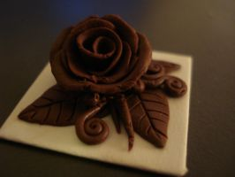 Chocolate Rose by RinMitsu