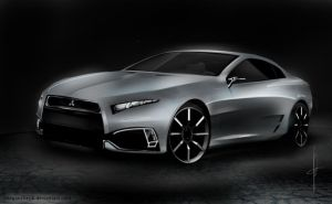 Mitsubishi 4000gt concept by keegancheok