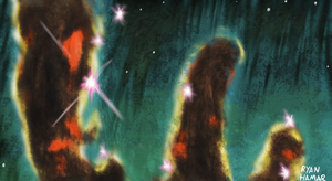 The pillars of creation by Noisemaker111