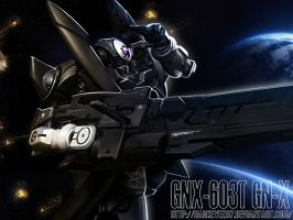 GUNDAM GNX by darkeyez07