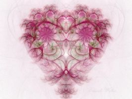 The Pink Heart by DWALKER1047