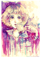 coffee and plaid by weewill