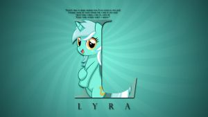 Wallpaper : Letters - Lyra by pims1978