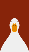 Domestic Duck  - bird wallpaper for iPhone by birnimal