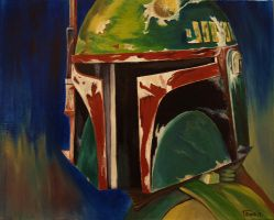 Boba Fett Profile Shot (Star Wars) by Withoutum