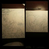 sonic boom and knux vs. shad teaser by trunks24