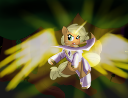 10 of 100 Ponies - Applejack, Bringer of Light by ZaneZandell