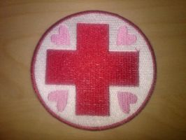 Nurse Redheart Merit Badge by EthePony